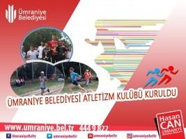 Ümraniye Belediyesi Atletizm Kulübü Kuruldu