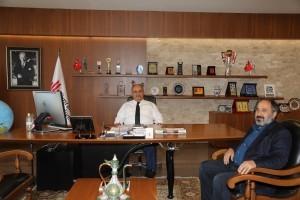 İstanbul Takipte Haber Sitesi Genel Yayın Yönetmeni Hüseyin Adil Yelkenci'den Başkan Hasan Can'a Ziyaret