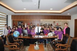 Ümraniye Özel Uğur Okullarından Başkan Hasan Can'a Ziyaret