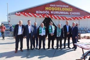 Başkan Hasan Can Bingöl Tanıtım Günlerine Katıldı