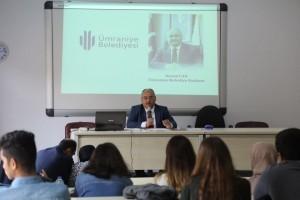 Başkan Hasan Can Marmara Üniversitesi Öğrencilerine Tecrübe Paylaşımında Bulundu