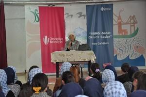 Eğitimci-Yazar Ayla Ağabegüm Kültür Sanat Okulda Başlar Programının Konuğu Oldu