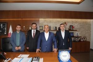 MÜSİAD Balıkesir Şube Başkanlığı'ndan Başkan Hasan Can'a Ziyaret