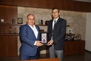 İŞKUR Ümraniye Şube Yeni Başkanı Fahri Acar'dan Başkan Hasan Can'a Ziyaret