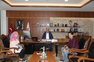 15 Temmuz Gazisi Bayram Güler'den Başkan Hasan Can'a Ziyaret