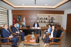 Vakıfbank Bölge Müdüründen Başkan Hasan Can'a Ziyaret