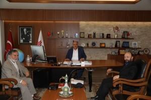 ÖNDER İmam Hatipliler Derneğinden Başkan Hasan Can'a Ziyaret