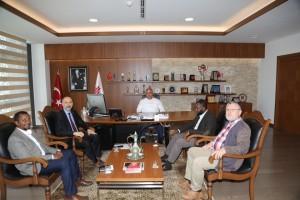 Başkan Hasan Can, Kardeş Şehir Dire Dawa'dan Gelen Heyeti Ağırladı