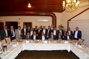 Başkan Hasan Can, Ümraniye Tantavi Sosyal Tesislerinde Muhtarları Ağırladı