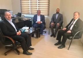 Ümraniye Belediye Başkanı Hasan Can'dan Ziyaretler