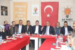 Başkan Hasan Can AK Parti Ümraniye Topağacı ve Dumlupınar Mahalle Yönetimiyle Bir Araya Geldi