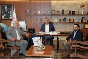 Özel Medivia Hospital Hastanesi'nden Başkan Hasan Can'a Ziyaret