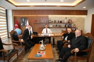 Rumelili İş Adamı Salih Kalkan'dan Başkan Hasan Can'a Ziyaret