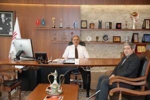 15 Temmuz Gazisi İlhami Çil'den Başkan Hasan Can'a Ziyaret