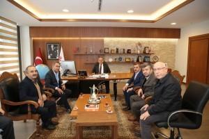 KADOSAN Yönetim Kurulu'ndan Başkan Hasan Can'a Ziyaret