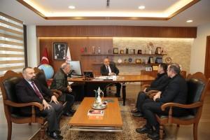 Kezban Esat Ünsal Semt Polikliniği'nden Başkan Hasan Can'a Ziyaret