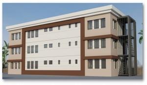 Şehit Köksal Karmil İmam Hatip Ortaokuluna Kazandırılacak Ek Binanın Yapımı Devam Ediyor
