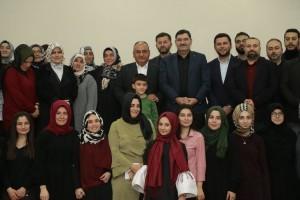 Başkan Hasan Can, Ümraniye Özel Şule Yüksel Şenler Kız Öğrenci Yurdu Öğrencileriyle Bir Araya Geldi
