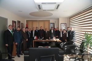 Başkan Hasan Can Kızılay Ümraniye Şube Başkanı Ali Şentürk'ü Ziyaret Etti