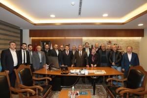 Başkan Hasan Can, AK Parti Parseller ve Armağanevler Mahalle Başkanları ve Yönetimlerini Ağırladı