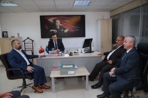 Başkan Hasan Can'dan İŞKUR Ümraniye Şube Müdürü Fahri Acar'a Ziyaret