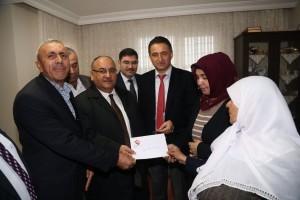 Başkan Hasan Can, Görevi Başında Şehit Olan İETT Şoförü Ahmet Dokuyucu'nun Ailesini Ziyaret Etti