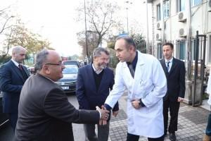 Başkan Hasan Can'dan Kezban Esat Ünsal Ağız ve Diş Sağlığı Polikliniği'ne Ziyaret