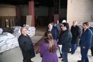 Başkan Hasan Can, Yapımı Devam Eden 3'üncü Sosyal Market'i Yerinde İnceledi