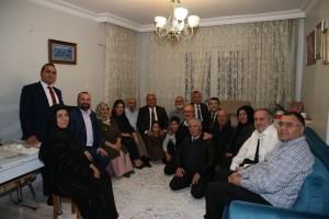 Başkan Hasan Can 15 Temmuz Gazisi İbrahim Çınar'ı Evinde Ziyaret Etti