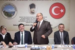 Başkan Hasan Can Anadolu Yakası Rumelililer Sosyal Kültürel Yardımlaşma Derneği'ni Ziyaret Etti