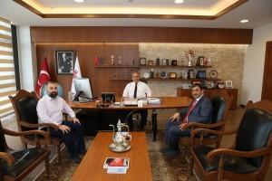 İstanbul Taksiciler Esnaf Odası Başkanı Yılmaz Yahya Uğur'dan Başkan Hasan Can'a Ziyaret