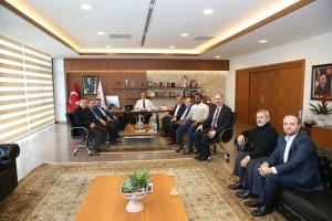 Deniz Feneri Derneği İstanbul Şubesinden Başkan Hasan Can'ı Ziyaret Etti