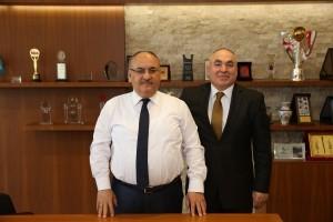 Ordu Mesudiye Çardaklı Köyü Dernek Başkanından Başkan Hasan Can'a Ziyaret