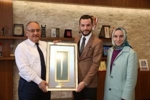Samsun Atakum Belediye Başkan Yardımcısı'ndan Başkan Hasan Can'a Ziyaret