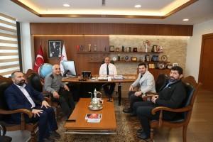 Sanatçı Davut Güloğlu'ndan Başkan Hasan Can'a Ziyaret