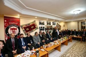 Başkan Hasan Can Sivaslılarla Bir Araya Geldi