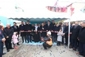 Necip Fazıl Mahallesi Hacı Nurten Camii ve Sosyal Tesisinin Temel Atma Töreni Yapıldı