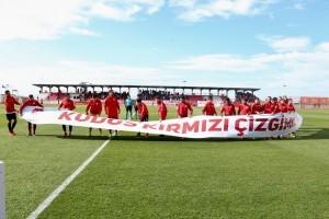 Ümraniyespor Maçında Futbolcular Kudüs İçin Tek Yürek Oldu