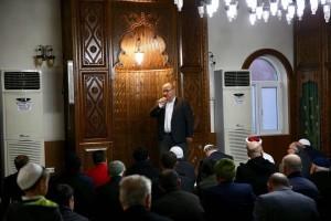 Başkan Hasan Can, Sümeyye Hatun Cami Cemaatiyle Bir Araya Geldi