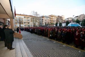 Başkan Hasan Can Yeni Haftaya Bayrak Töreni İle Başladı
