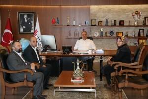 15 Temmuz Şehidi Erol İnce'nin Ailesinden Başkan Hasan Can'a Ziyaret