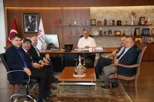 Başkan Hasan Can, Bartın Dernekler Federasyonu Yönetimini Ağırladı