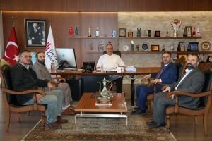 HAK-İŞ Konfederasyon İstanbul İl Başkanı Mustafa Şişman'dan Başkan Hasan Can'a Ziyaret