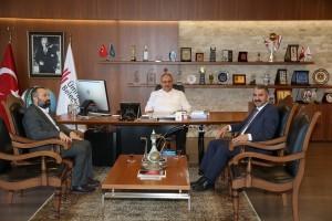 Bağcılar Belediye Başkan Yardımcısı Cemil Şahin'den Başkan Hasan Can'a Ziyaret