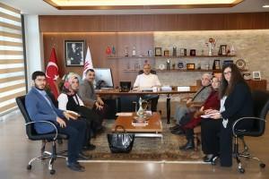 Mutlu Yuva Mutlu Yaşam Derneği'nden Başkan Hasan Can'a Ziyaret