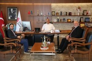 Rize Kendirli Dernek Başkanı Burhan Enginoğlu'ndan Başkan Hasan Can' a Ziyaret
