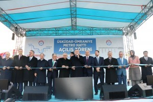 Üsküdar- Ümraniye- Çekmeköy- Sancaktepe Metrosu Cumhurbaşkanımız Sayın Recep Tayyip Erdoğan'ın Katılımıyla Açıldı