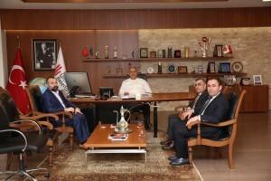 TEİAŞ 4. Bölge Müdürü Atilla Kaya'dan Başkan Hasan Can'a Ziyaret