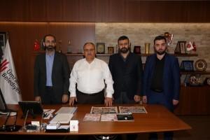 Rehber TV Doğru Haber Gazetesi İcra Kurulu'ndan Başkan Hasan Can 'a Ziyaret