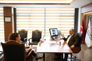 Başkan Hasan Can Akşam, Star ve Güneş'e Röportaj Verdi